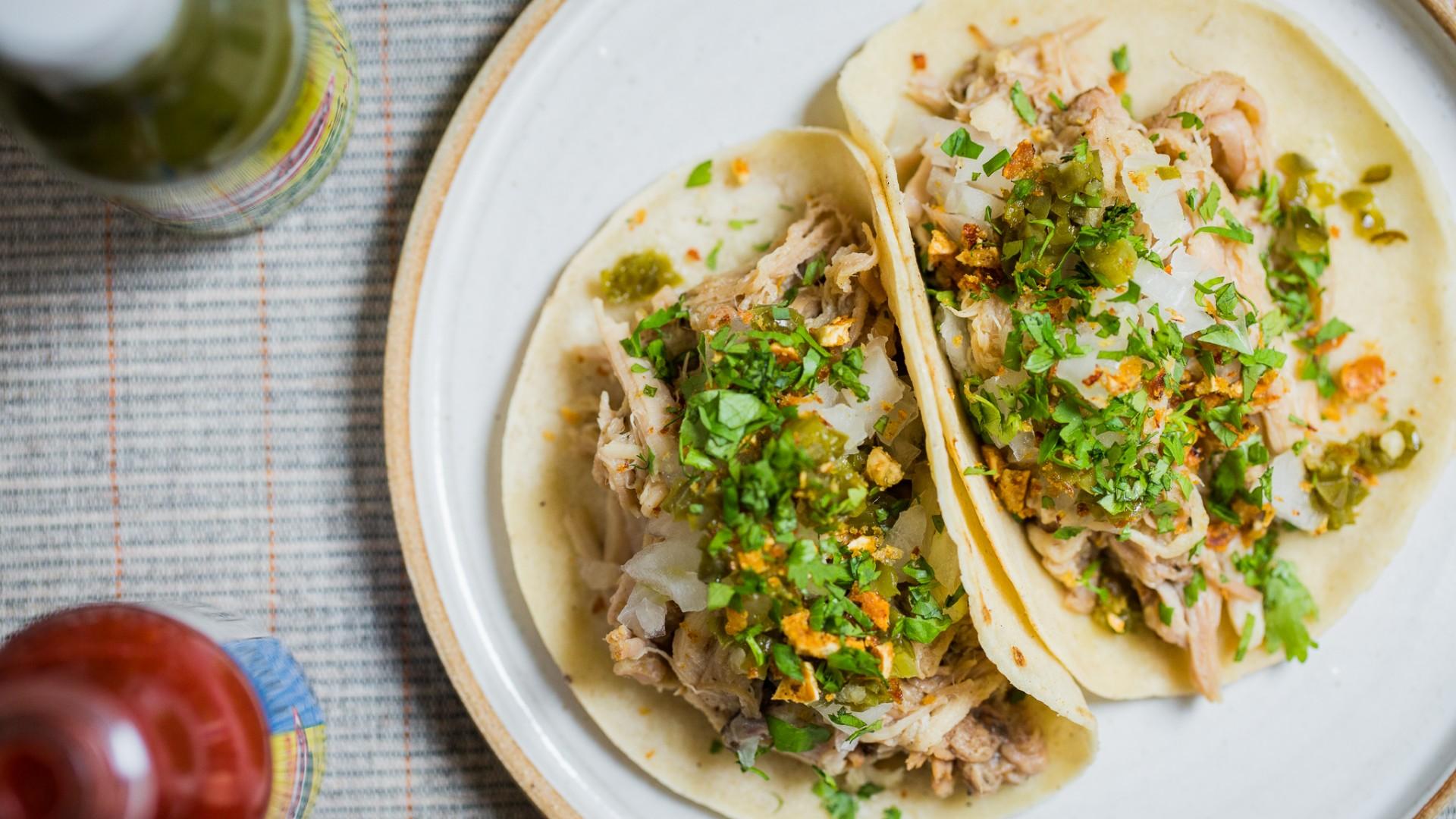 The carnitas taco