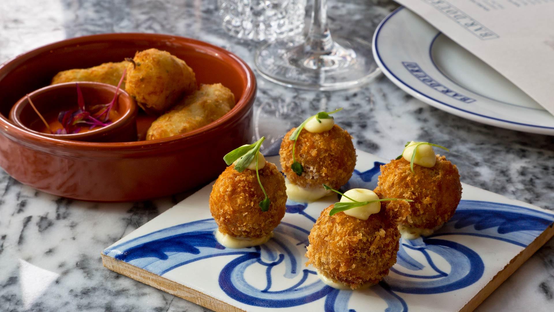 Croquetes de Alheira – smoked Portuguese sausage croquettes