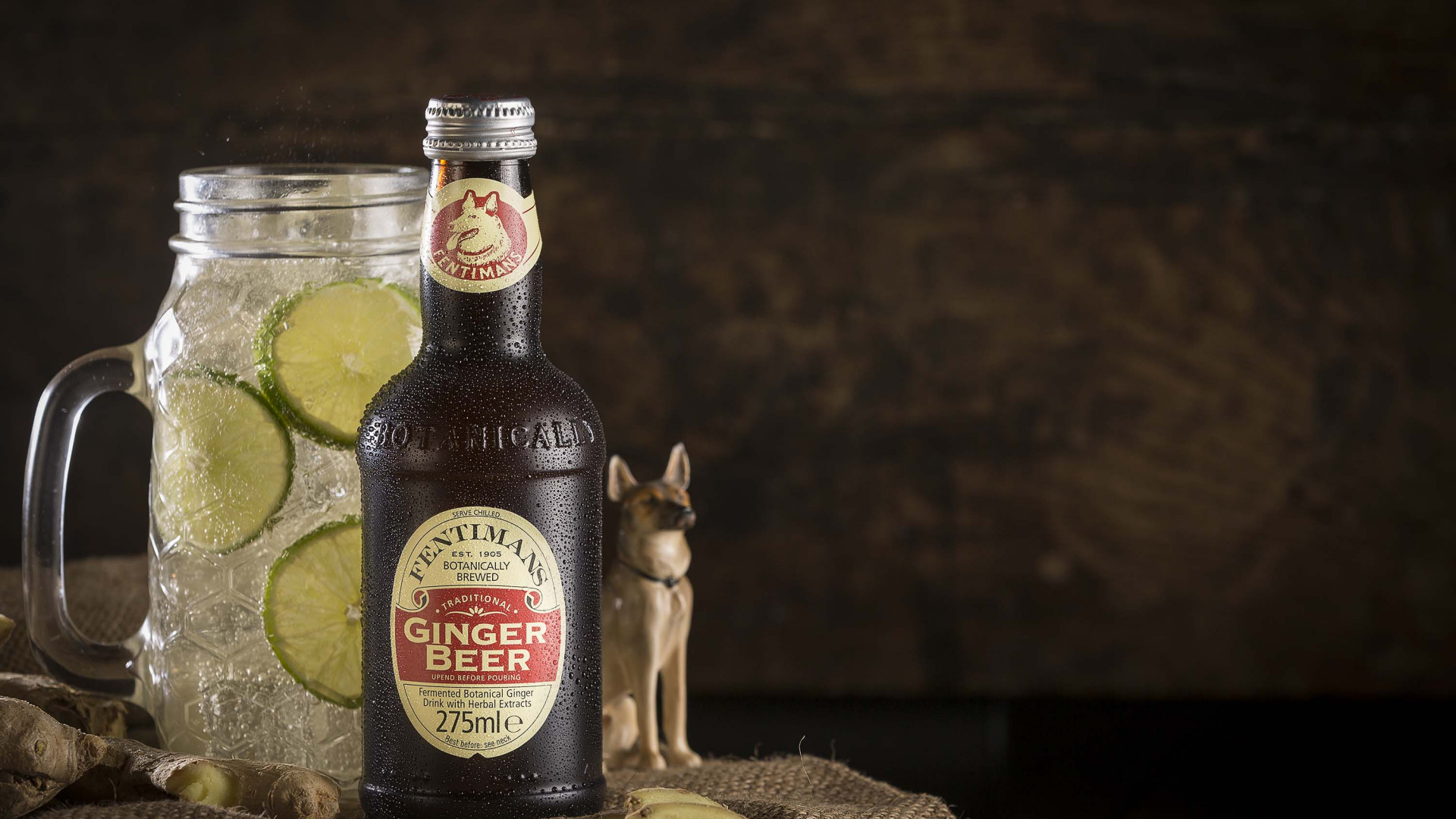 Old-school ginger beer: Fentiman's
