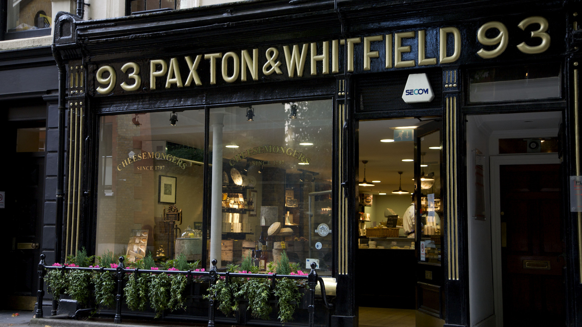 Old school cheese: Paxton & Whitfield