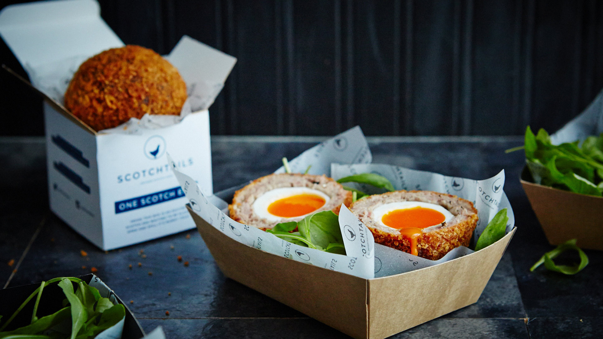 New-school scotch eggs: Scotchtails