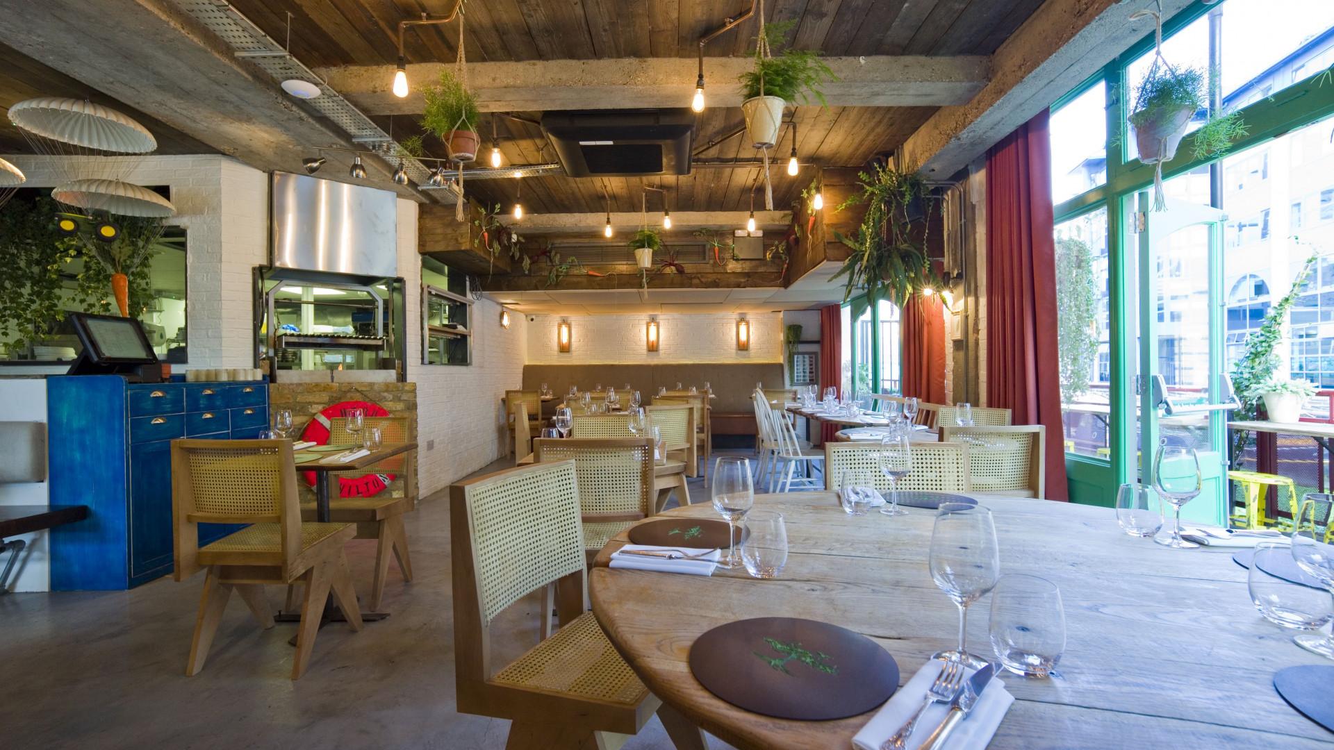 The restaurant in Battersea