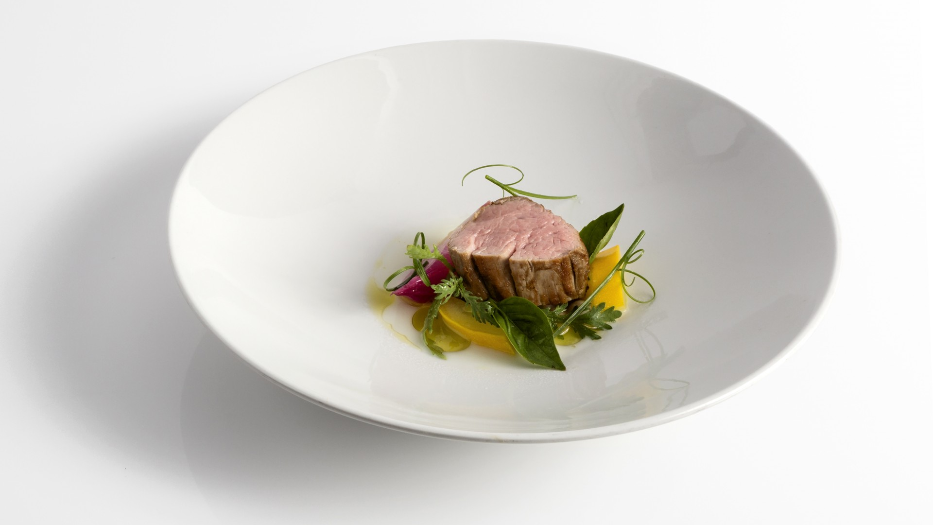 Dabbous' veal dish