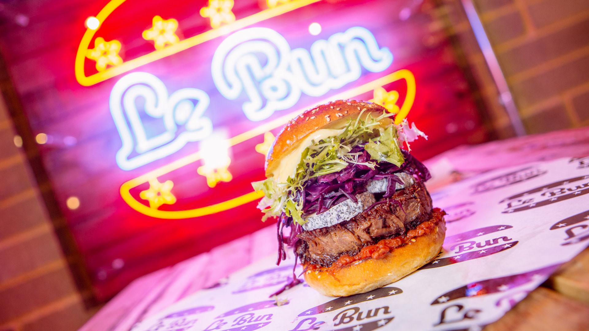 Burgers from Le Bun