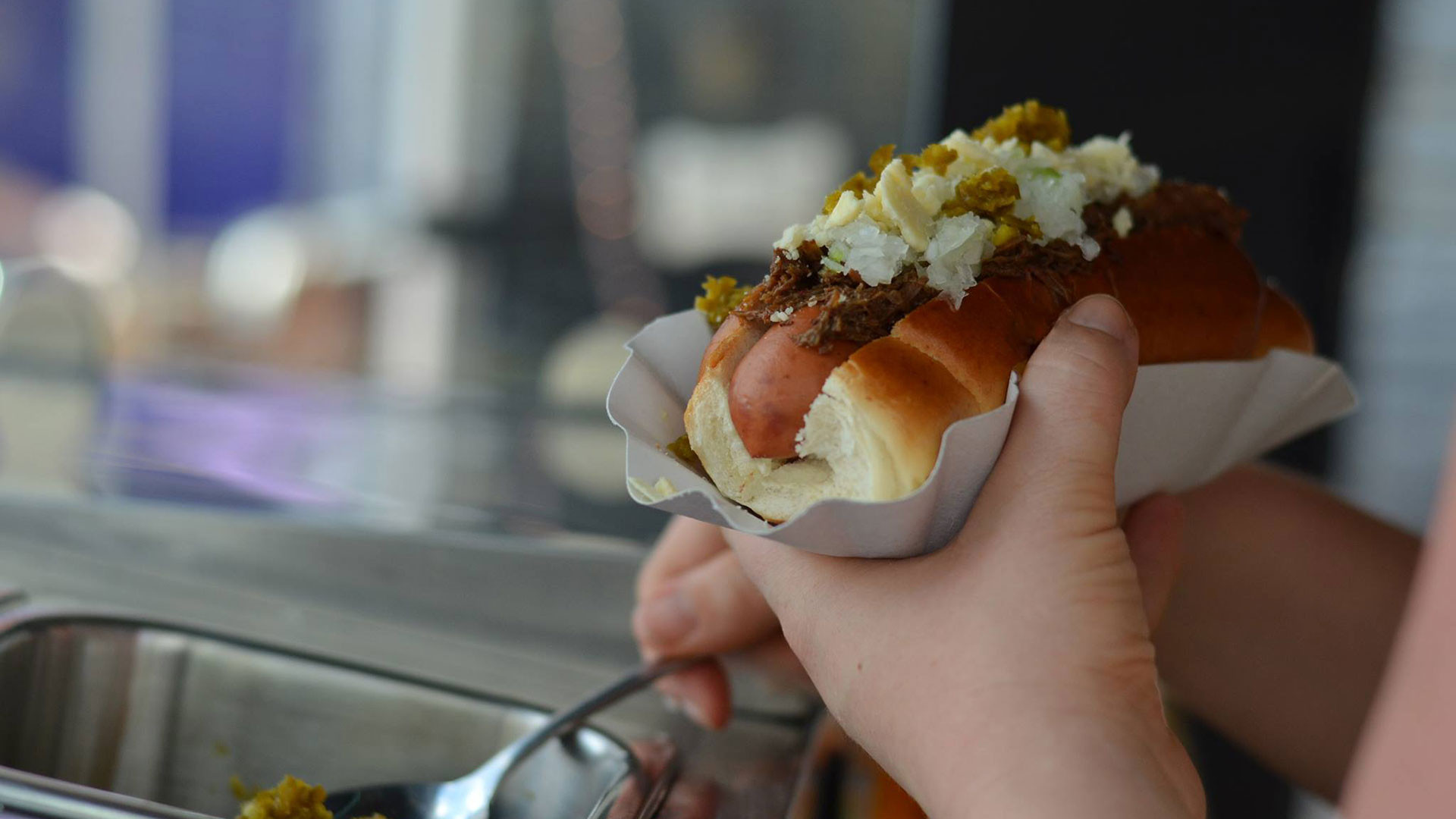 Hot dogs from OhMyDog