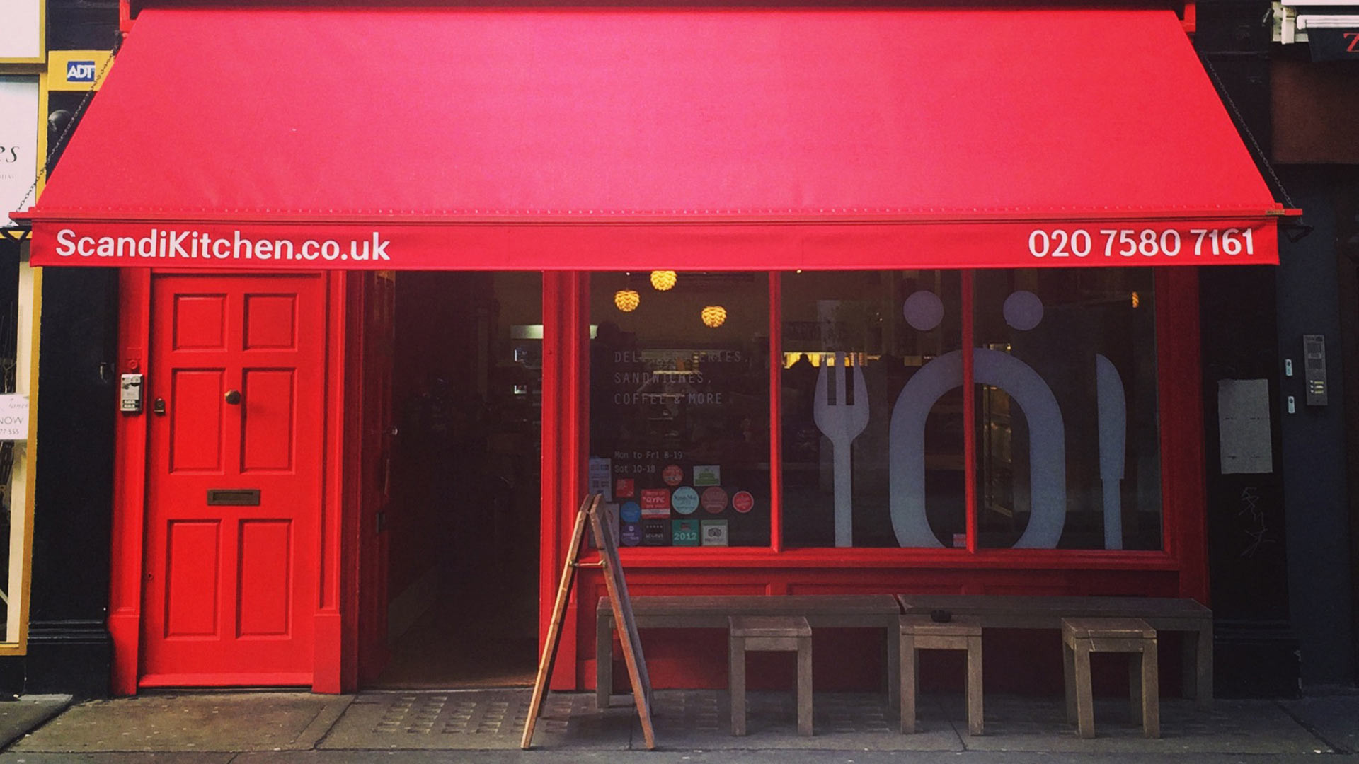 London's coffee shops: Scandi Kitchen