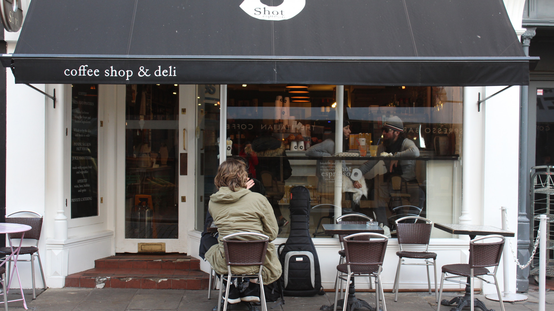 London's coffee shops: Shot Espresso