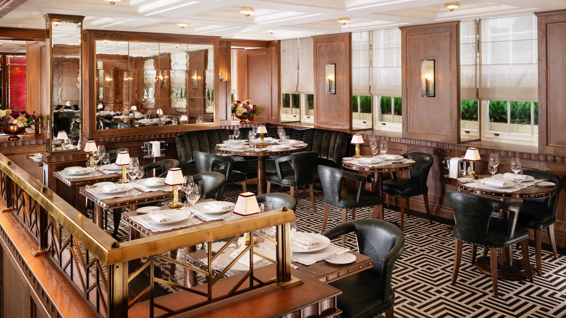 The dining room at Ormer