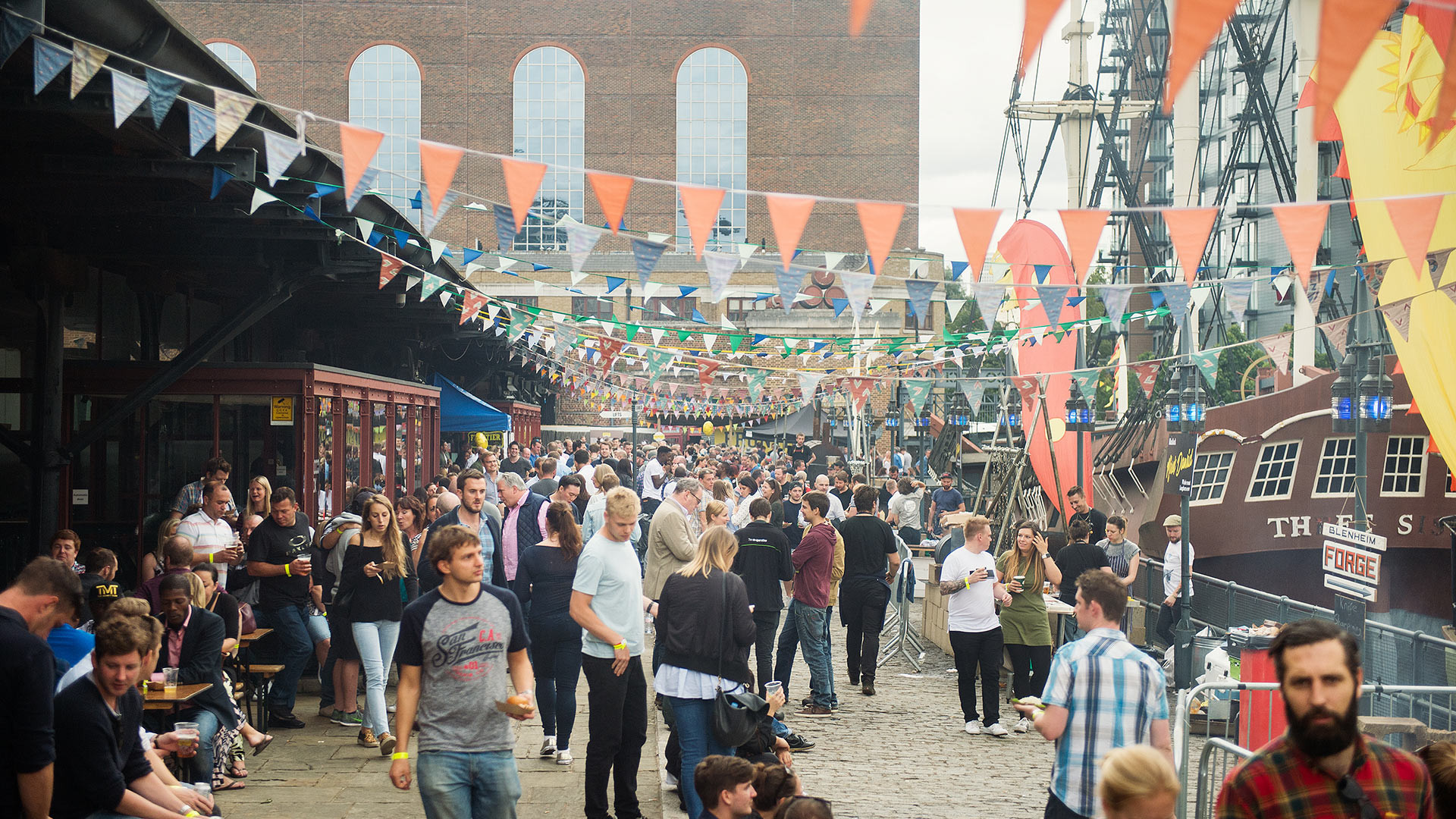 Meatopia takes place at Tobacco Dock