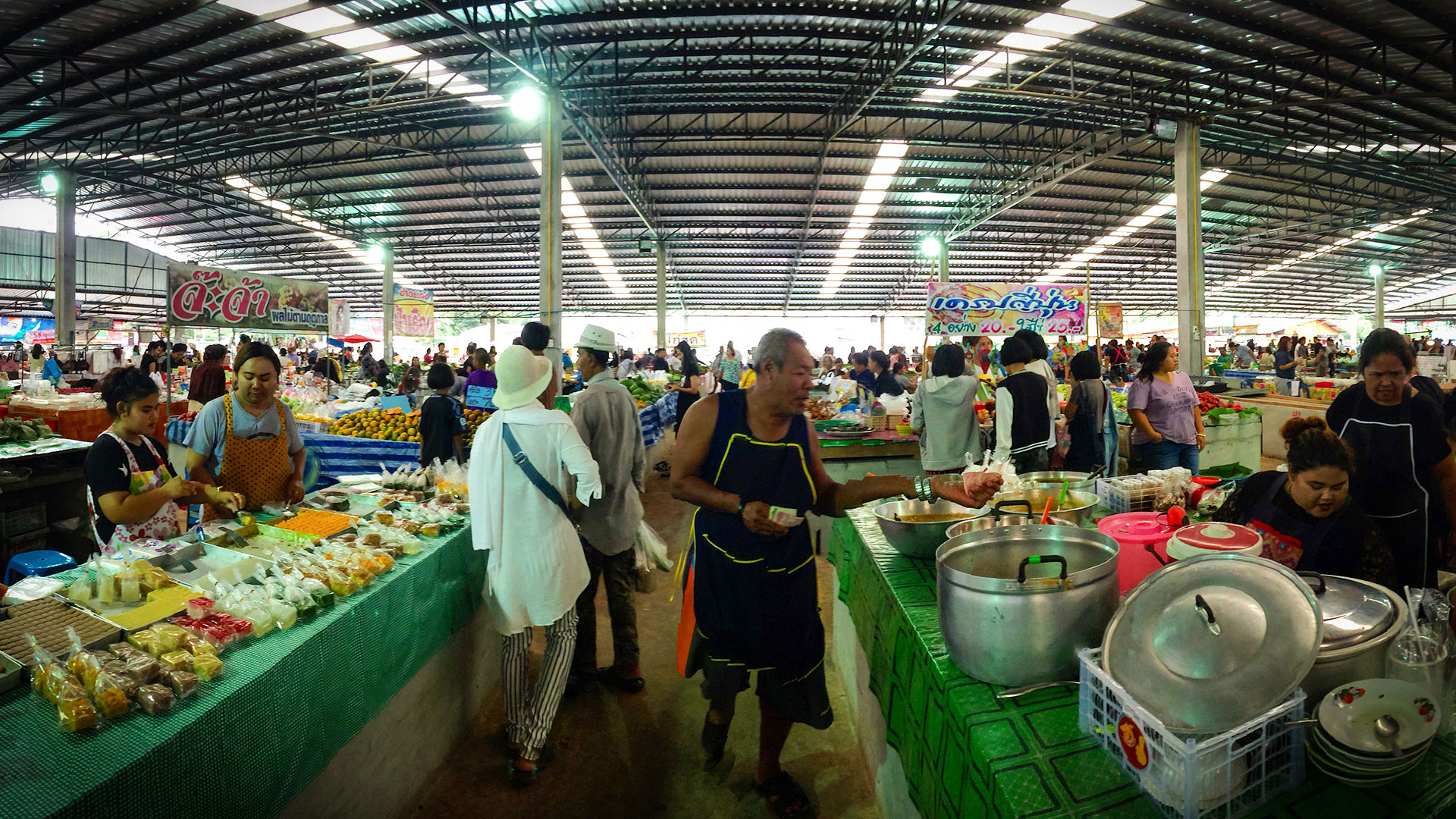 A food market in Trang