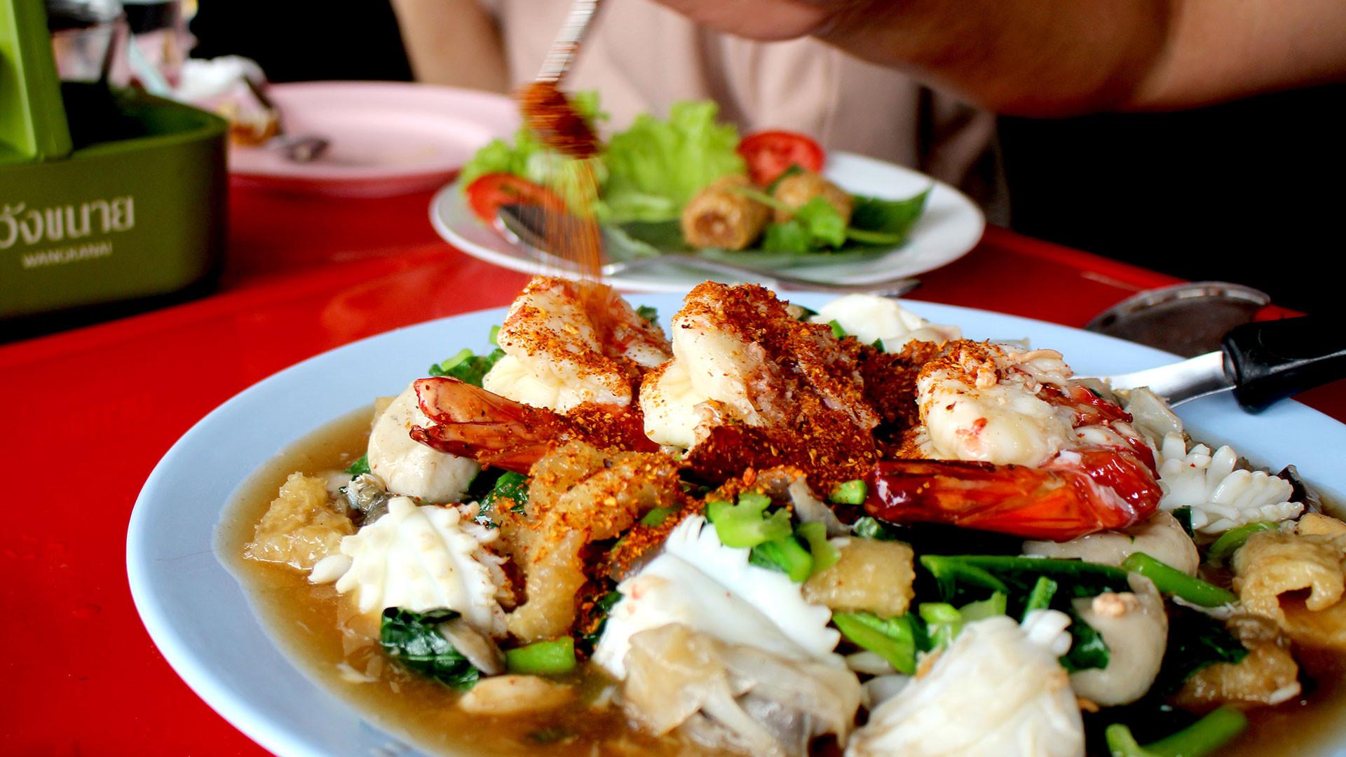 Rad nar noodles in Trang