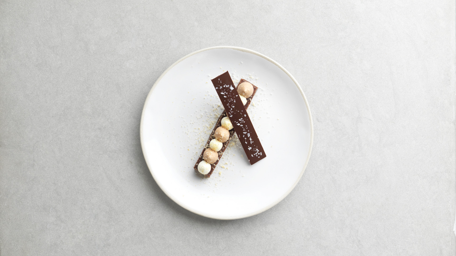 Chocolate nougatine at Marcus