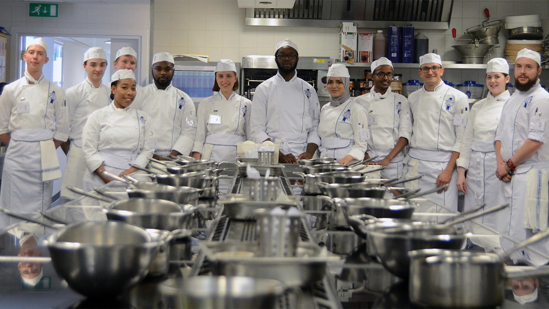 The finalists for Le Cordon Bleu's UK Scholarship Award 2017