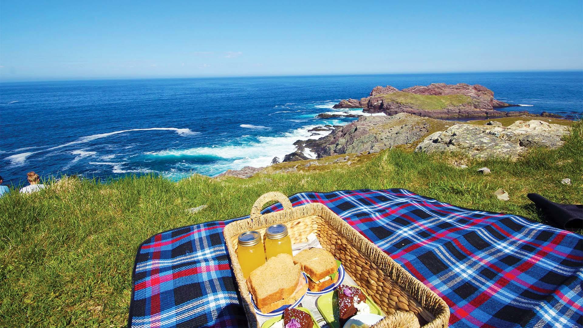 Lighthouse picnics in Newfoundland & Labrador, Canada