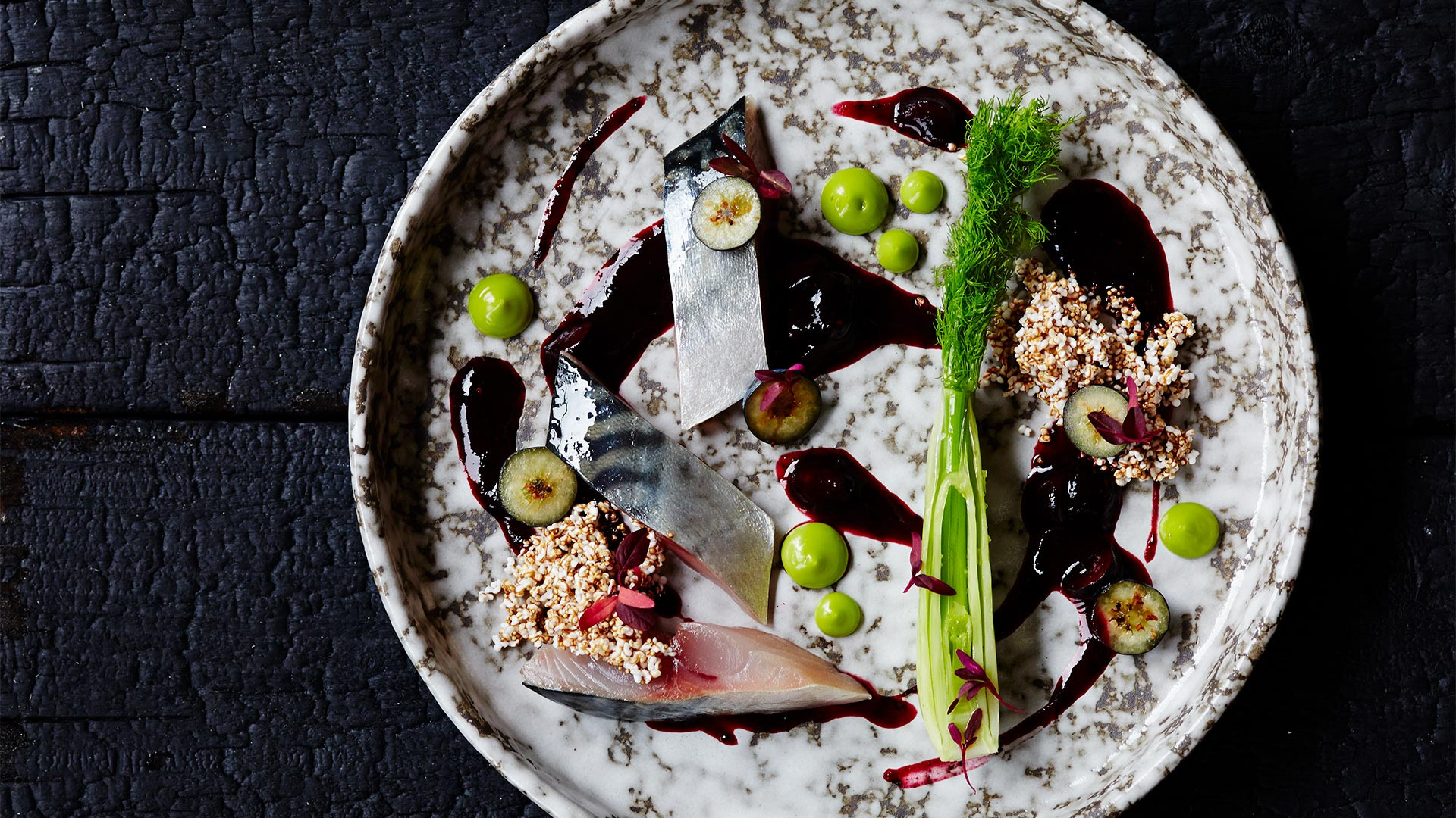 Magpie's characteristic pared-back cuisine