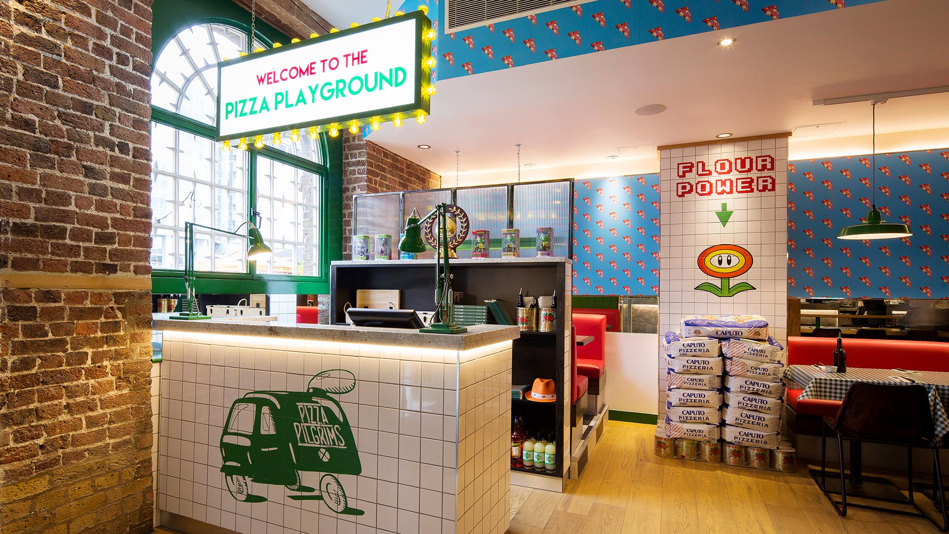 One of Pizza Pilgrims' London sites