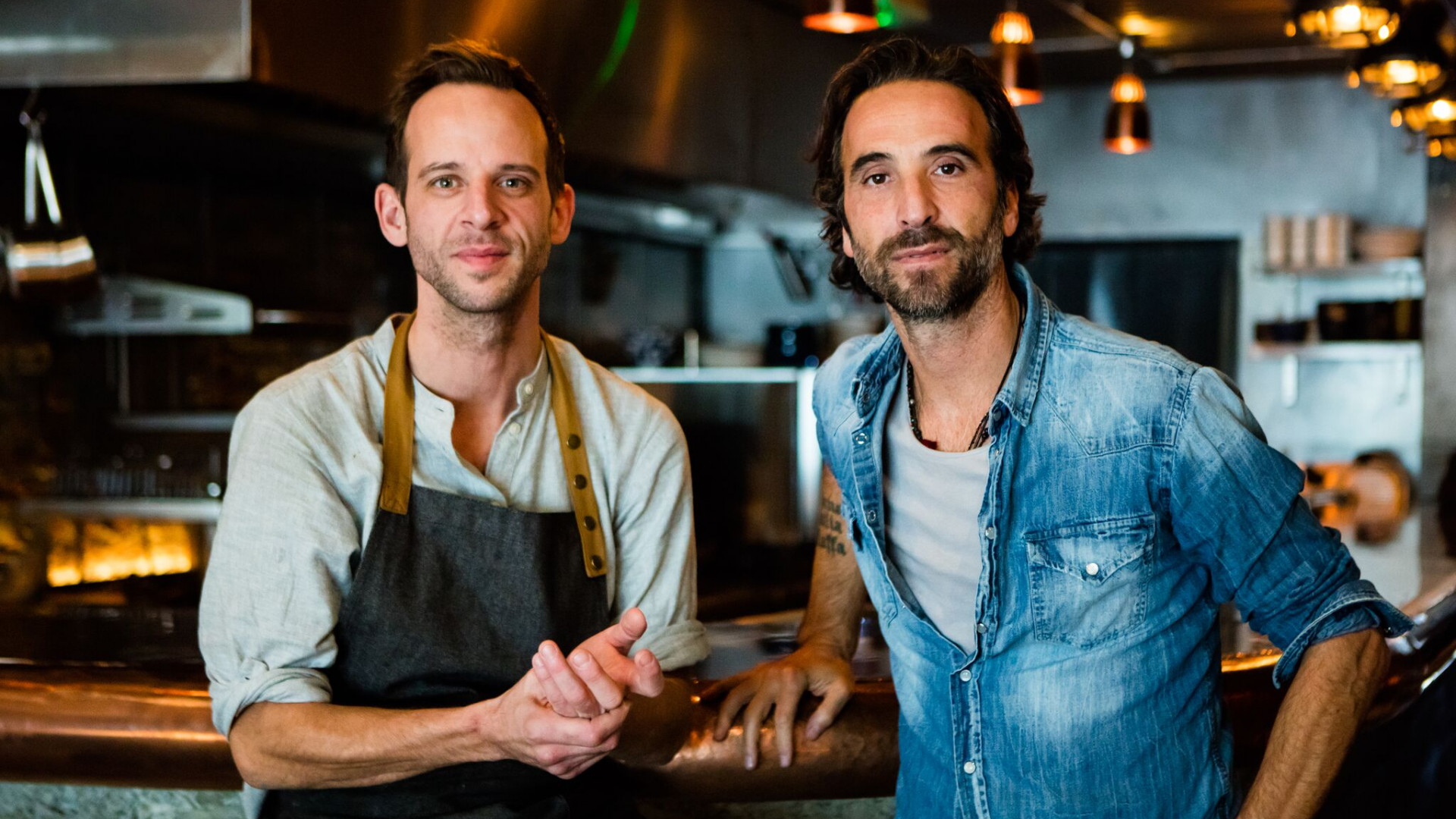 108 Garage founders Luca Longobardi and Chris Denney