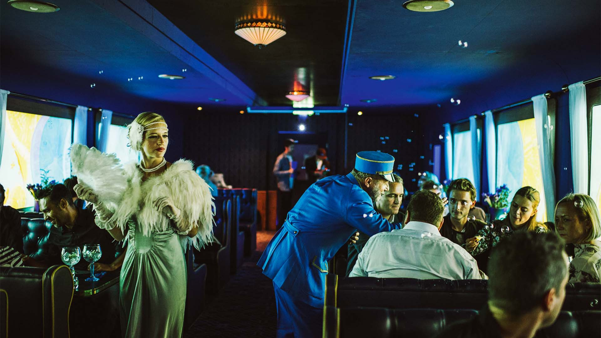 The Grand Journey immersive dining experience with Bombay Sapphire