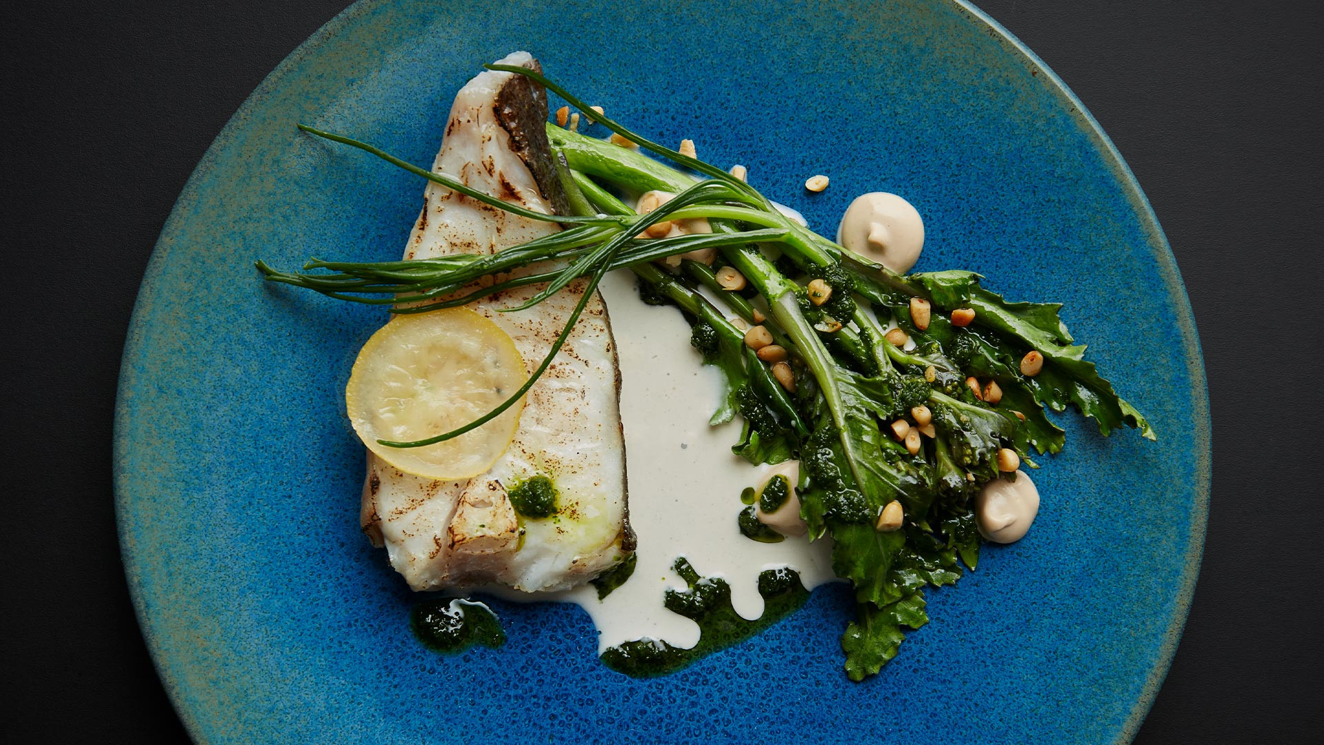 Market fish with anchovies at Neo Bistro