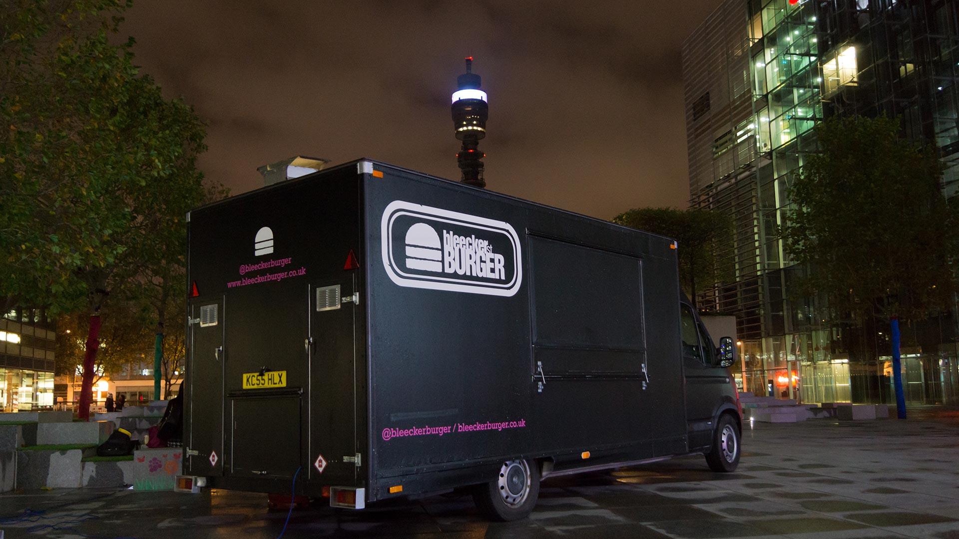 Bleecker Burger's food truck