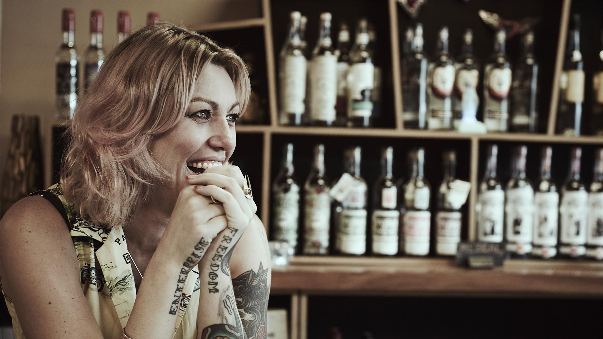 Melanie Symonds of Quiquiriqui mezcal