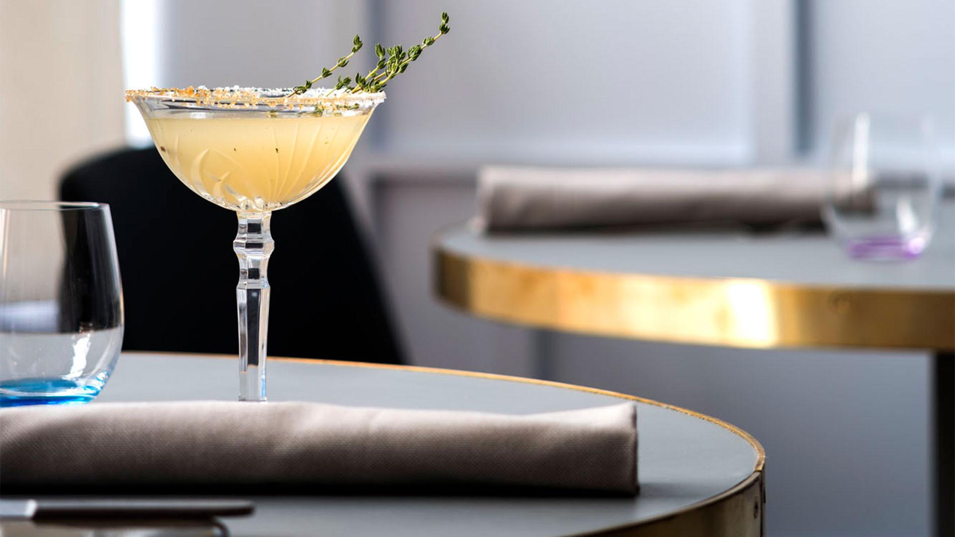 Oriental lady cocktail from Rigo