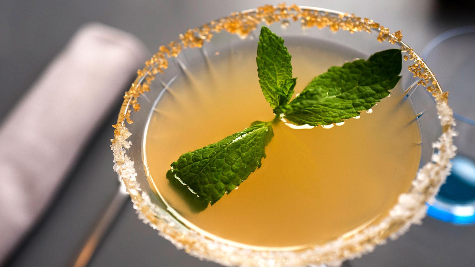 Margarita Mentha cocktail from Rigo