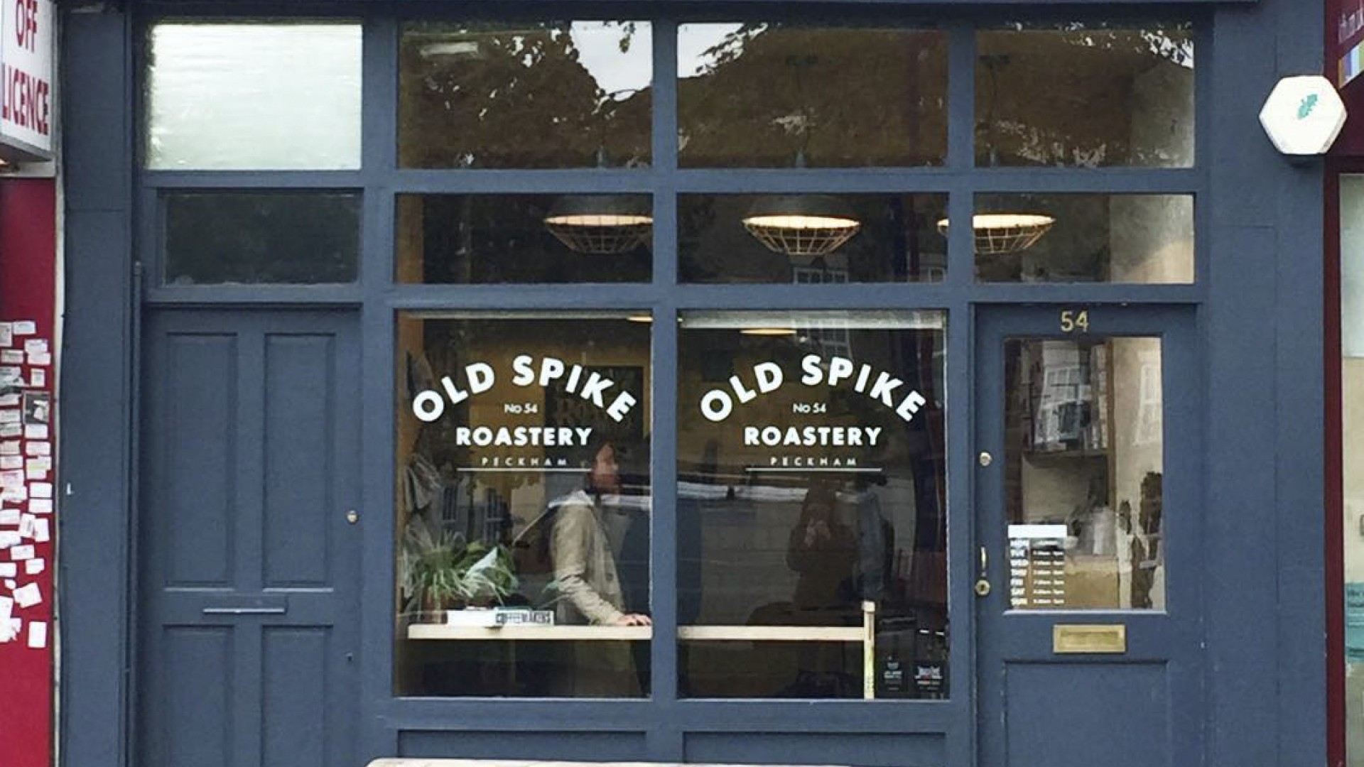 Old Spike Roastery exterior