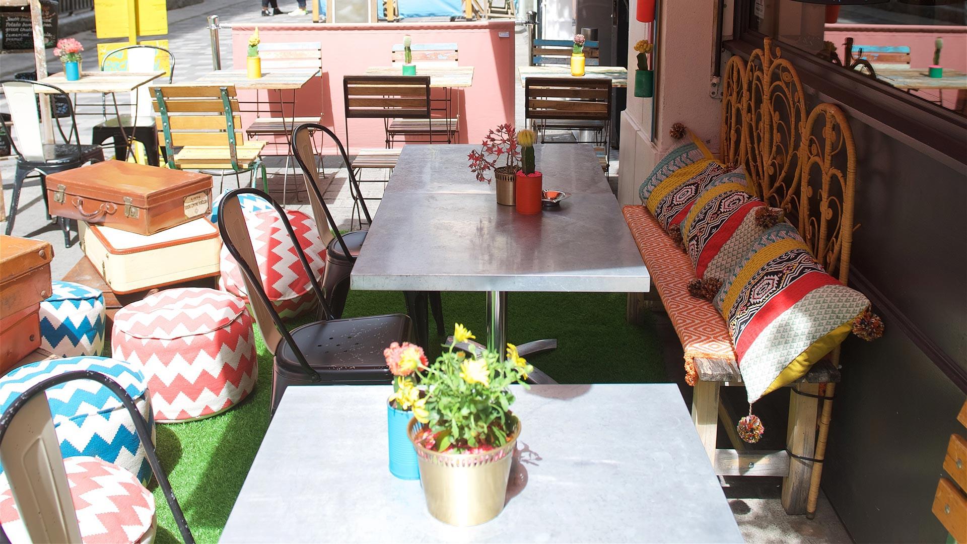 Cinnamon Soho's eco-friendly summer terrace