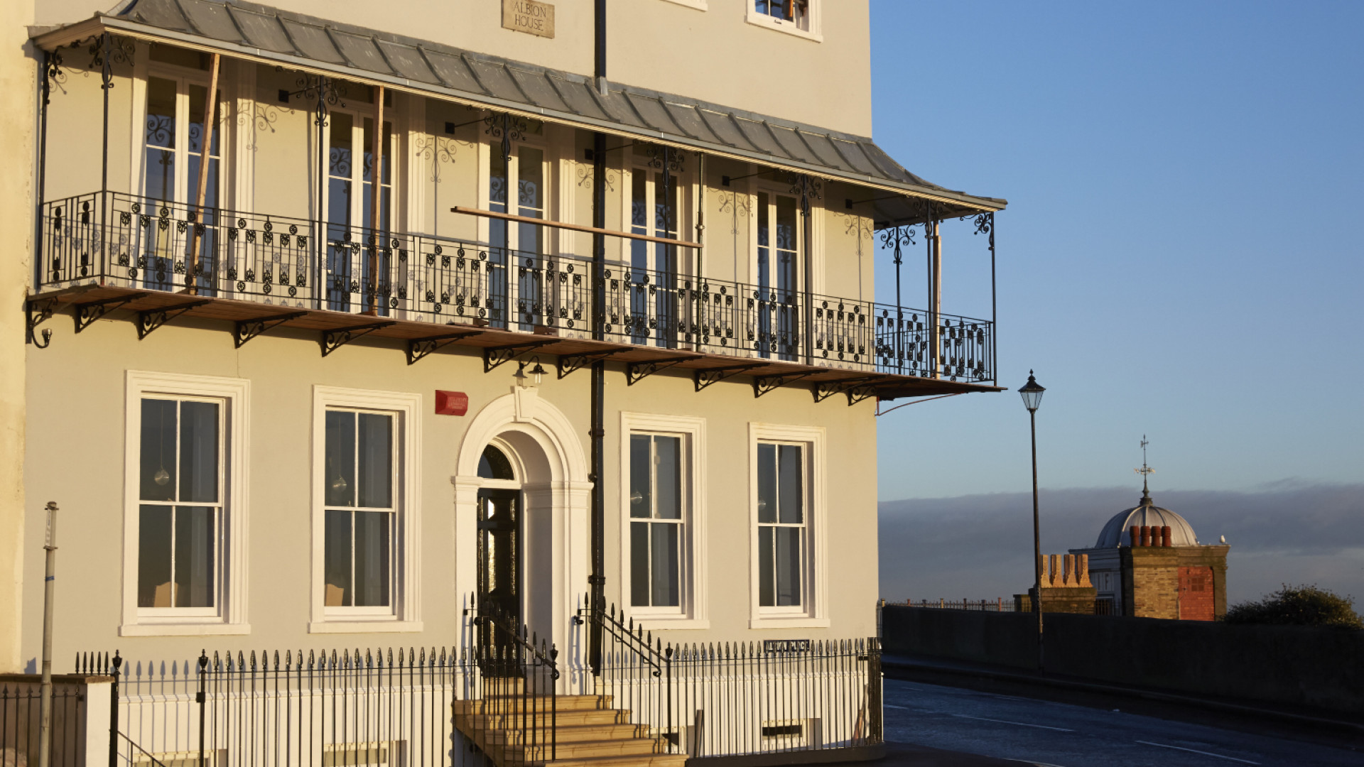 Albion House, a clifftop, 14-bedroom boutique hotel