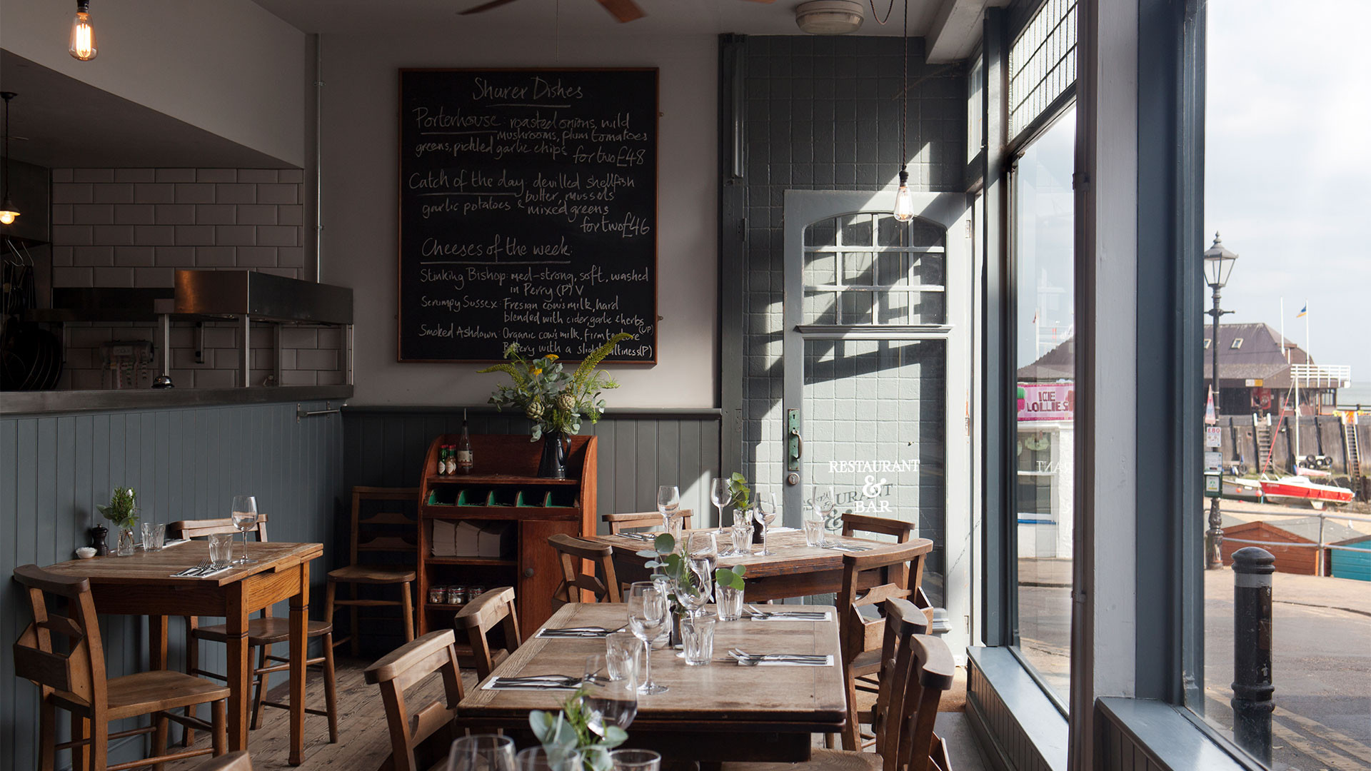 Wyatt & Jones restaurant, Broadstairs