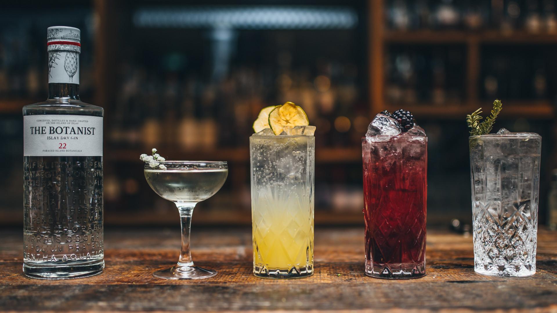 The Botanist's bar at Taste of London's festive edition