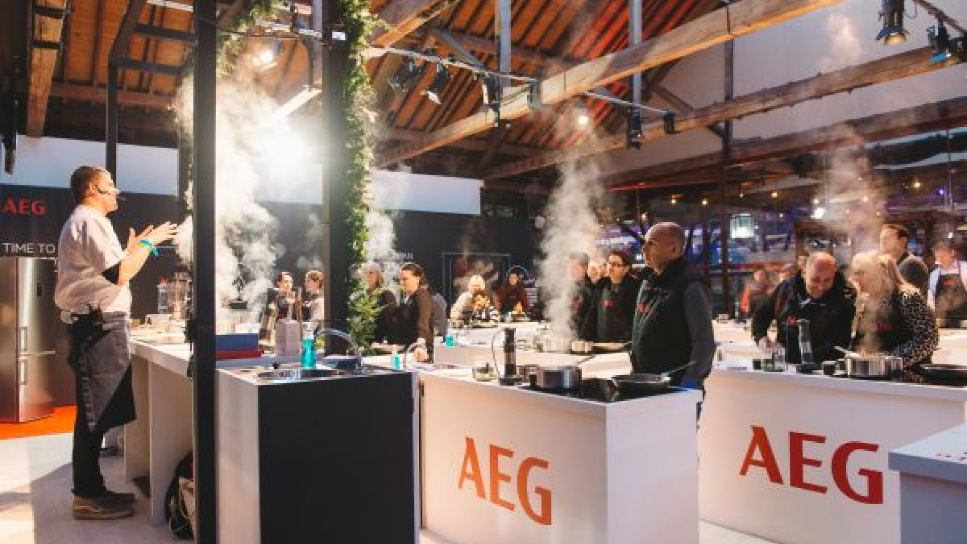 Get baking sessions with AEG at Taste of London's festive edition