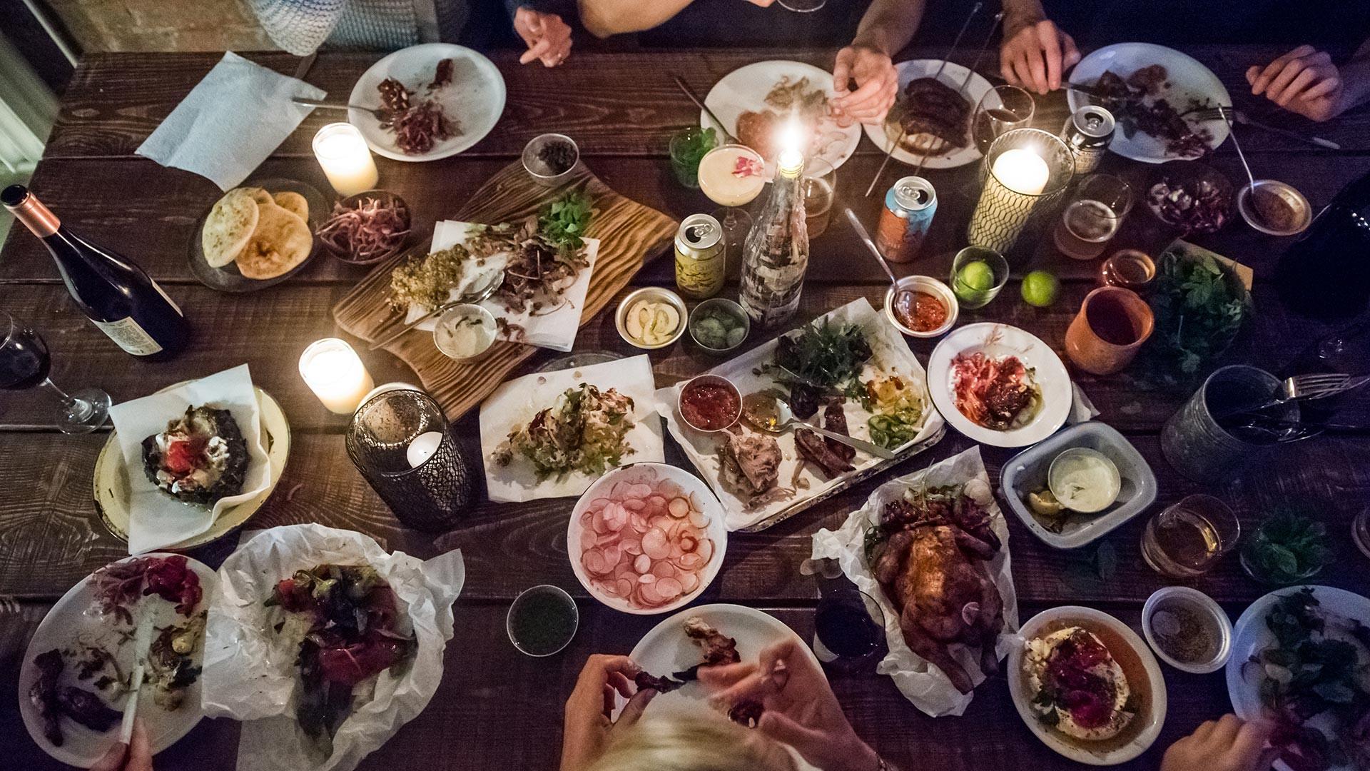 Berber & Q Christmas feast