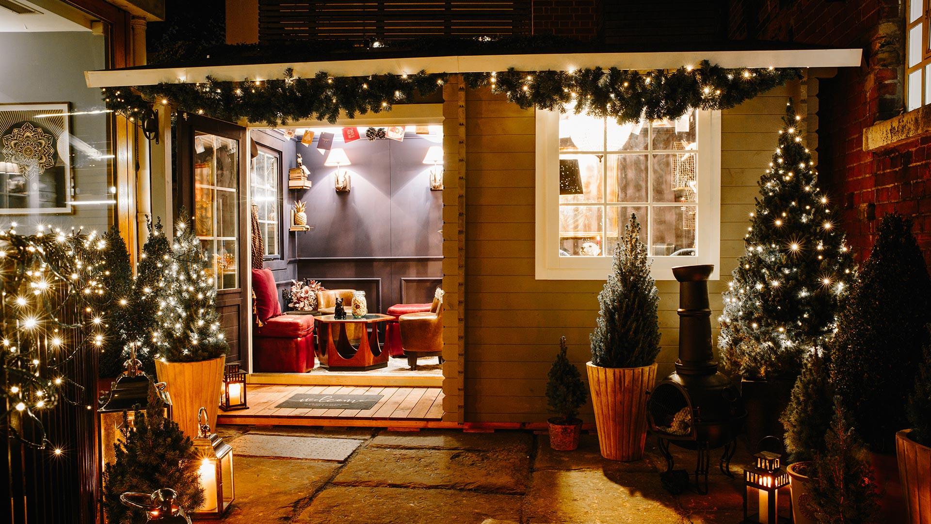 York & Albany's Winter Cabin