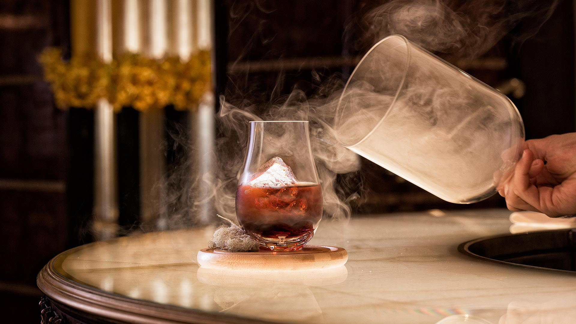 The Rivoli Bar mist cocktail