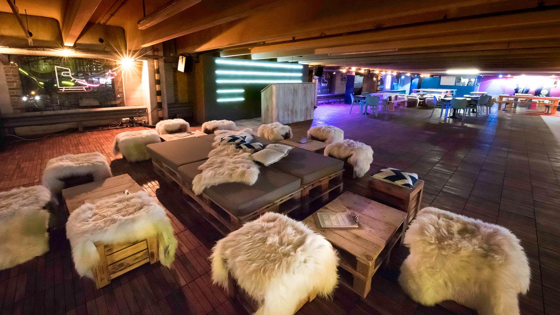 Skylight's bar