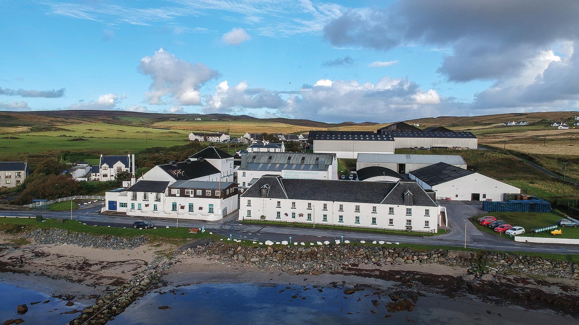 The Bruichladdich distillery on Islay