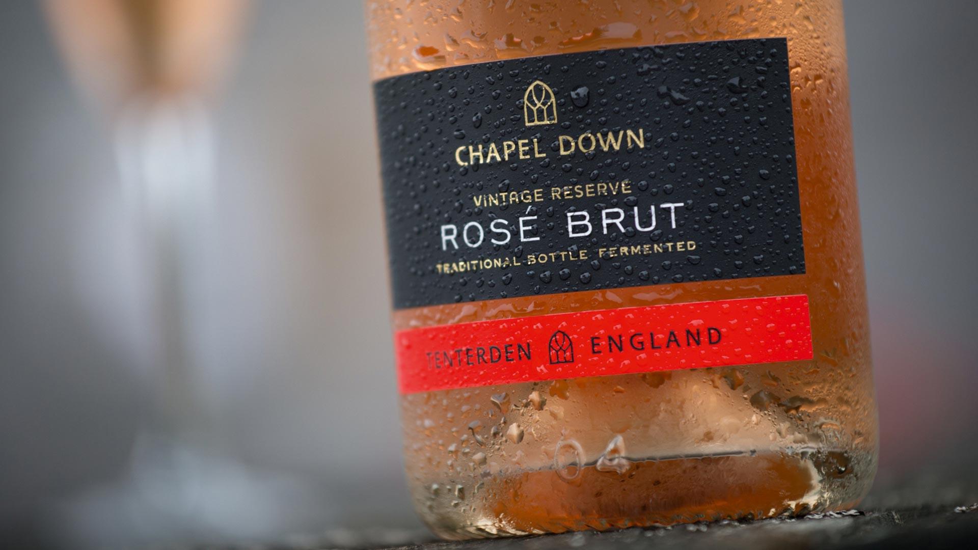 Chapel Down rosé brut
