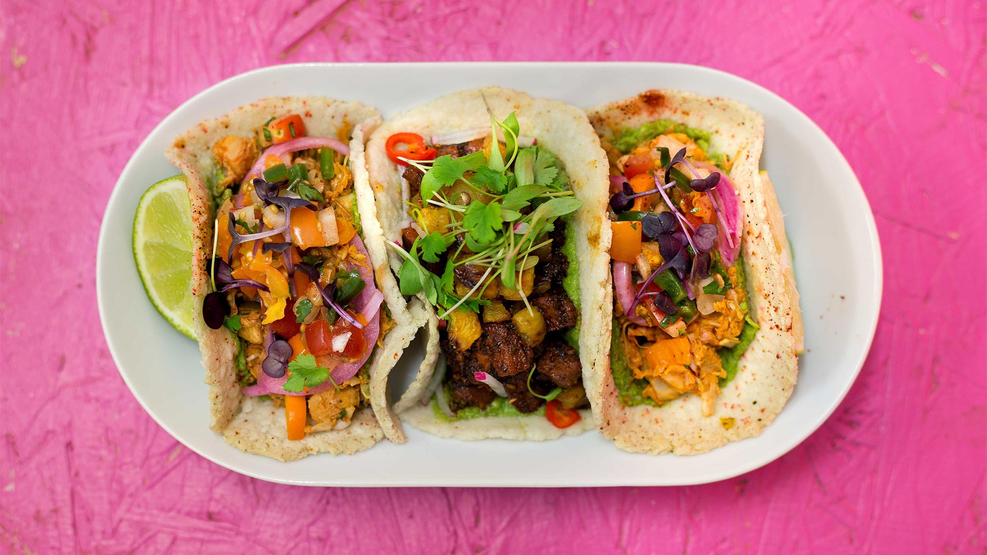 Club Mexicana's tacos