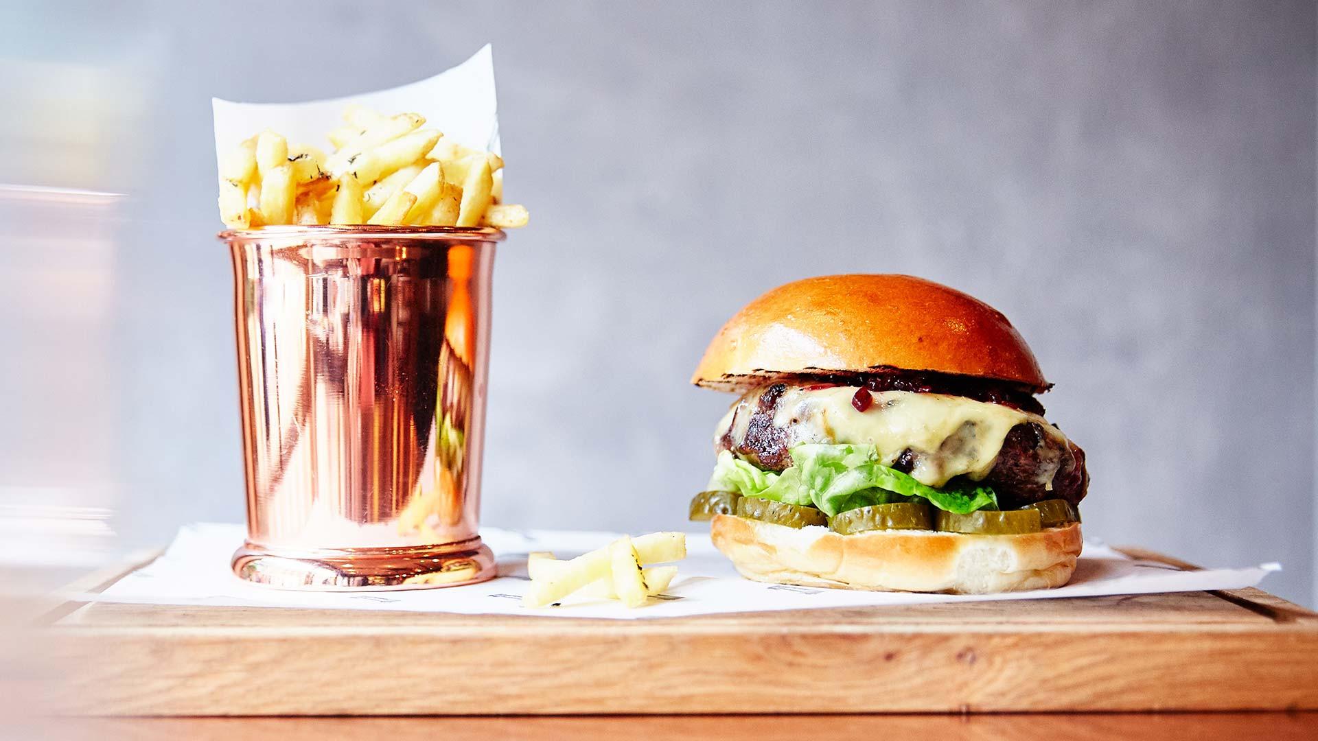 Boxcar burger