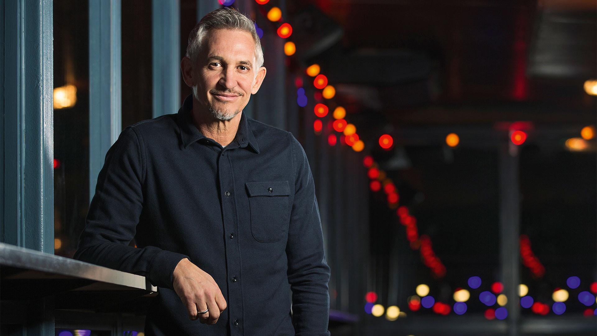 Gary Lineker, shot for Foodism at Street Feast's Dinerama food market