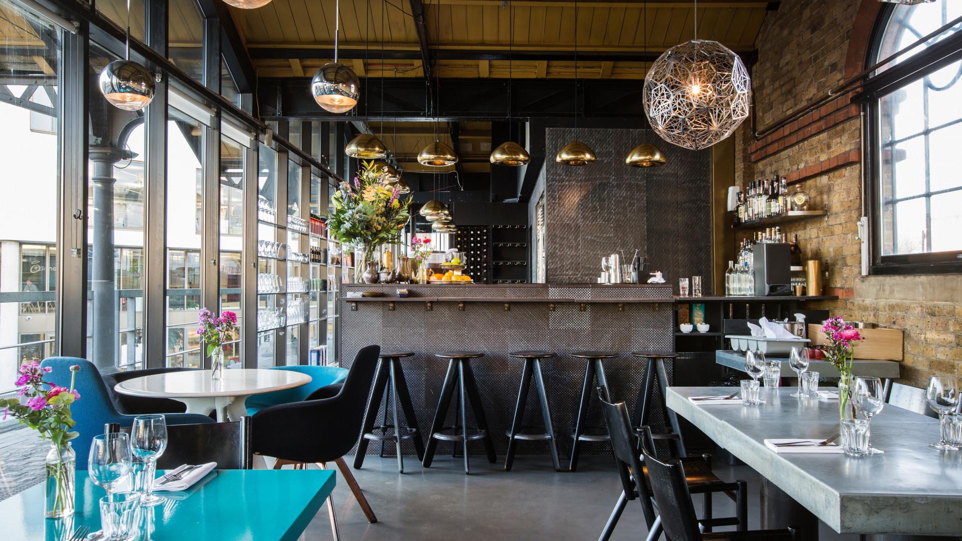 Inside Dock Kitchen, Ladbroke Grove
