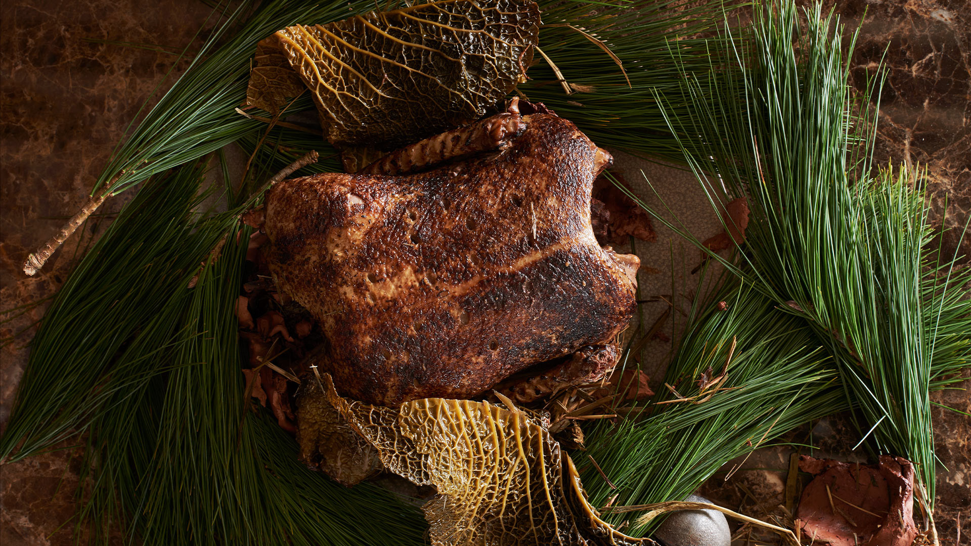 Clay-baked duck from CRAFT London, Greenwich