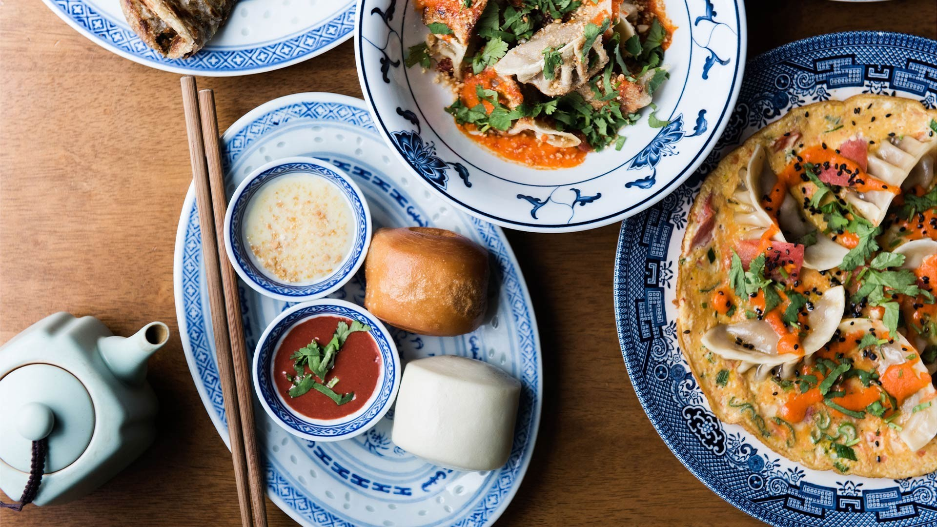 A selection of dishes from the soon-to-reopen Chinese Laundry in Islington