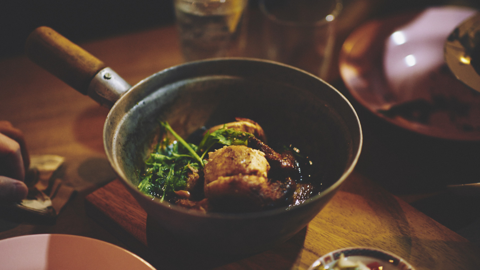 The soya-braised chicken at Smoking Goat Shoreditch
