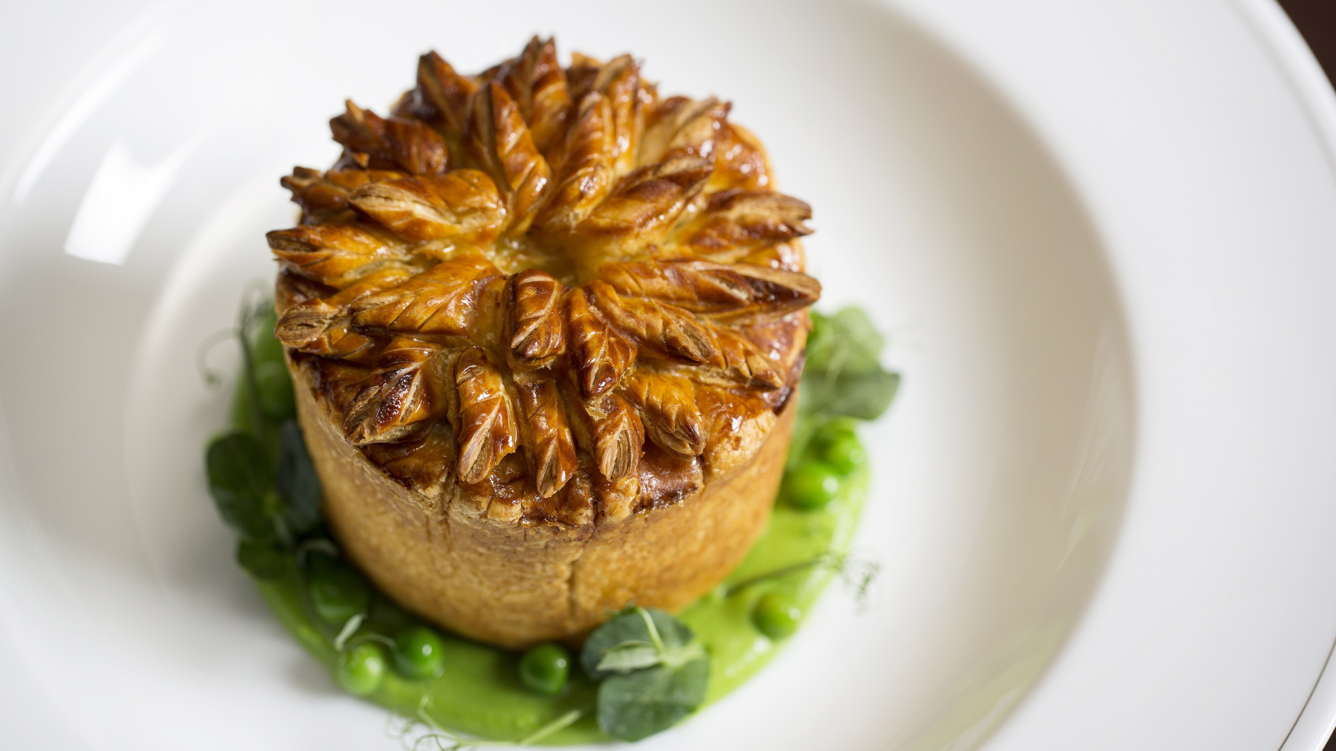 A pie from Holborn Dining Room