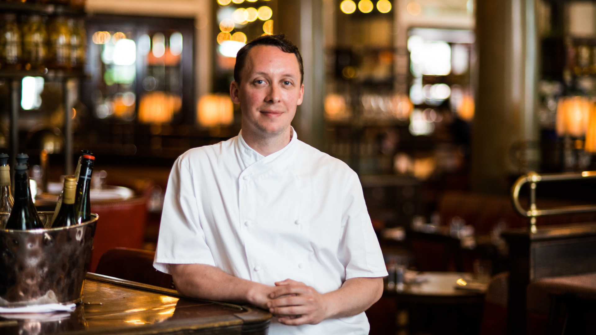 Holborn Dining Room's executive chef Calum Franklin