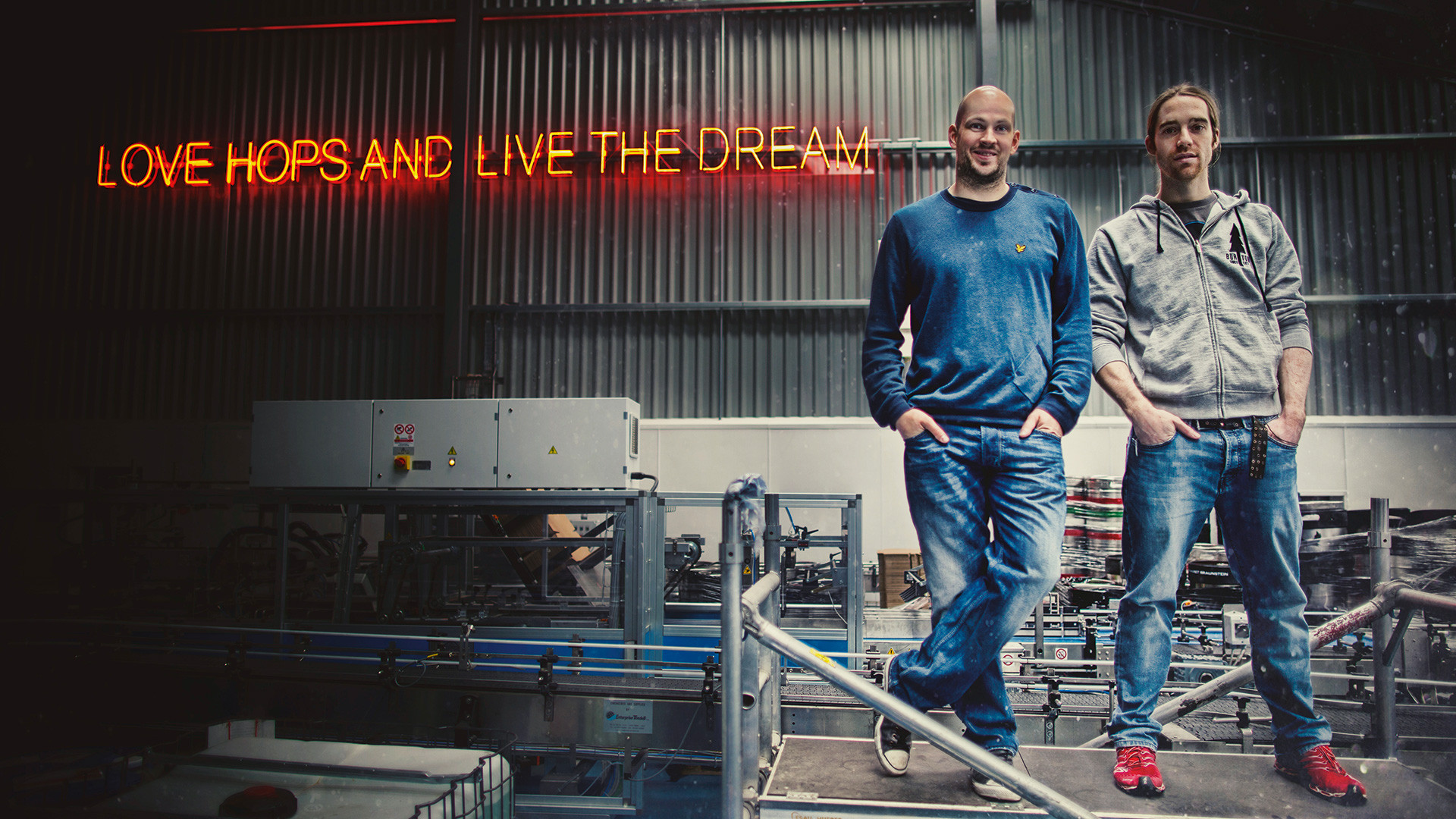 BrewDog founder's James Watt and Martin Dickie