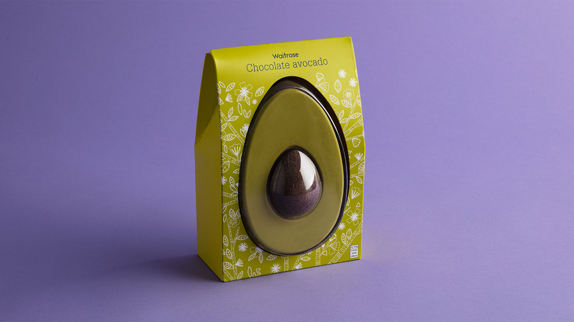 Waitrose dark chocolate avocado Easter egg